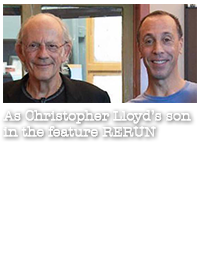 Rerun: as a son of Christopher Lloyd